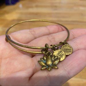 Ani & Alex Lotus bracelet